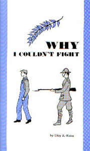 [Why I Couldn't Fight (by Lloy A. Kniss)]