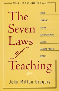 [The Seven Laws of Teaching]